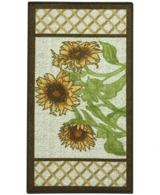 "Bacova Kitchen, Sunflower Frame 22""x40"" Rug"