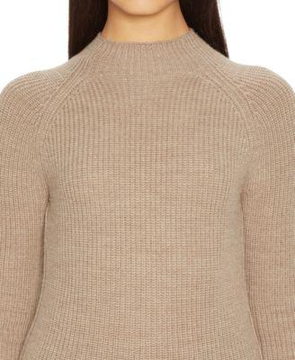Lauren Ralph Lauren Petite Ribbed Mock-Turtleneck Sweater ...
