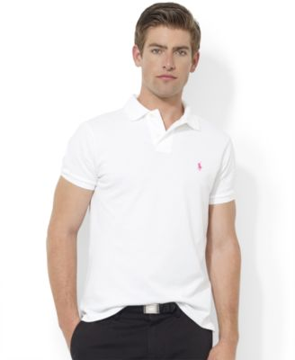 Polo Ralph Lauren Pink Pony Custom-Fit Polo