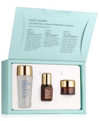 Kết quả hình ảnh cho set Estee Lauder get Started Now Advanced Night Repair Essential