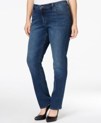 Lucky Brand Plus Size Ginger Slim Bootcut Jeans, Lodi Wash - Jeans ...