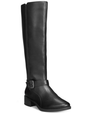 Easy Spirit Nadette Wide Calf Tall Boots Women's Shoes