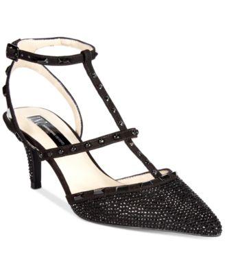 INC International Concepts Women's Carma Kitten-Heel Pumps, Only ...