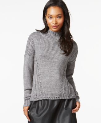 Maison Jules Mock-Turtleneck Knit Sweater, Only at Macy's ...