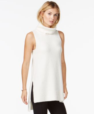 Bar III Sleeveless Turtleneck Tunic, Only at Macy's - Women's ...