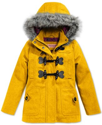 Urban Republic Toddler Girls' Wool Toggle Jacket - Coats & Jackets ...