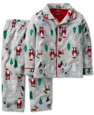 Boys Button Down Pajamas Breeze Clothing