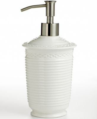 Martha Stewart Collection  Trousseau  Soap and Lotion Dispenser. Martha Stewart Collection  Trousseau  Soap Dish   Bathroom