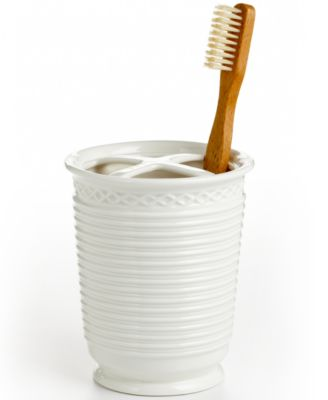 Martha Stewart Collection  Trousseau  Toothbrush Holder. Martha Stewart Collection  Trousseau  Soap Dish   Bathroom