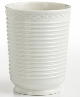Martha Stewart Collection  Trousseau  Tumbler. Martha Stewart Collection Trousseau Jar   Bathroom Accessories