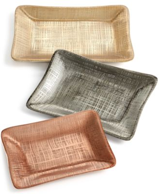 Simply Designz Geo Collection Set of 3 Nesting Trays, A Macy's Exclusive