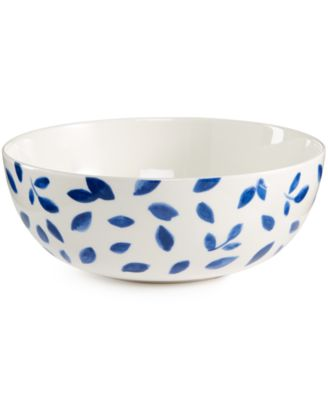 Martha Stewart Collection Porcelain Stockholm Vegetable Bowl, Only at Macy's