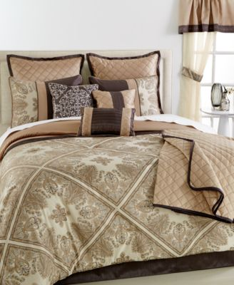 CLOSEOUT! Hilary 22-Pc. Queen Comforter Set