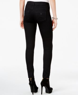 GUESS Letitia Skinny Jeans, Black Wash - Jeans - Women - Macy's