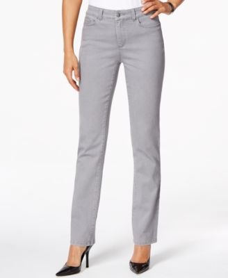 Charter Club Lexington Straight Leg Jeans, Embellished Pocket ...