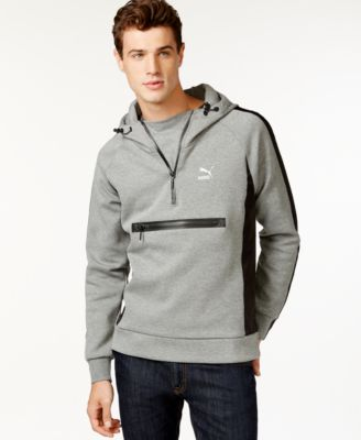 Puma Men's Evo Savannah Half-Zip Pullover Hoodie - Hoodies ...