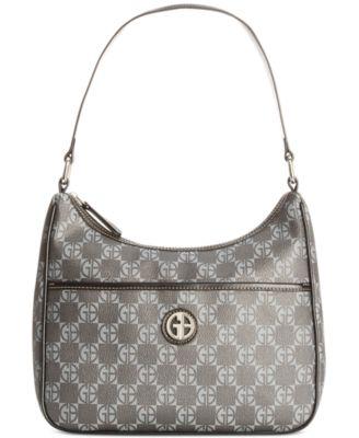 Giani Bernini Handbag, Nappa Leather Hobo - Handbags & Accessories ...