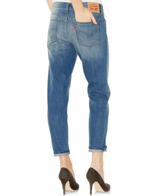 Levi's® New Boyfriend Jeans, Sundown Wash - Jeans - Women - Macy's