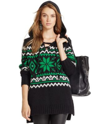 Polo Ralph Lauren Wool-Alpaca Fair Isle Sweater - Sweaters - Women ...