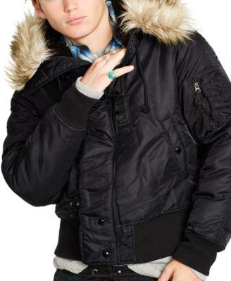 Denim & Supply Ralph Lauren Down Bomber Jacket - Coats & Jackets ...