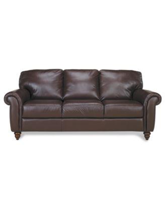 Lauren Ralph Lauren Leather Sofa Stanmore Furniture