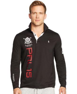 Polo Ralph Lauren Black Watch Long-Sleeved Performance Mesh Shirt