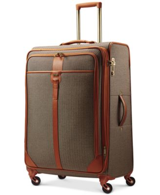 "Hartmann Herringbone Luxe 29"" Long Journey Expandable Spinner Suitcase"