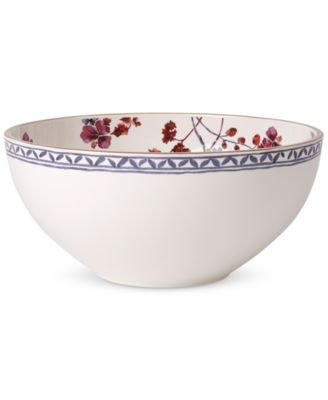 Villeroy & Boch Artesano Provencal Lavender Collection Porcelain Round Vegetable Bowl