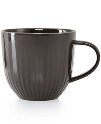 Hotel Collection Modern Slate Dinnerware Porcelain Mug, Only at Macy's
