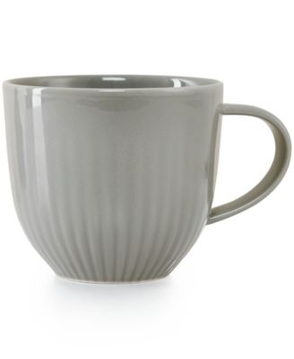 Hotel Collection Modern Stone Dinnerware Porcelain Mug, Only at Macy's