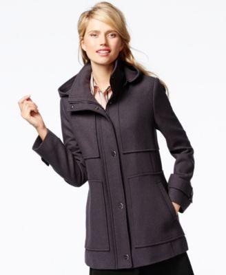 Petite Hooded Coat | Fashion Women's Coat 2017