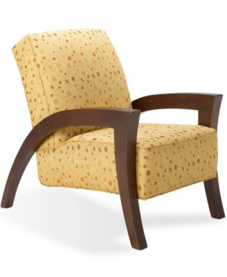 grasshopper living room chair, accent chair - furniture - macy's
