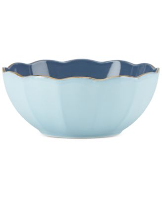 Marchesa by Lenox Dinnerware Ironstone Shades of Blue All-Purpose Bowl