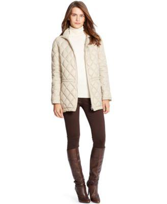 Lauren Ralph Lauren Quilted Nylon Down Jacket - Jackets & Blazers ... : quilted ralph lauren jacket - Adamdwight.com
