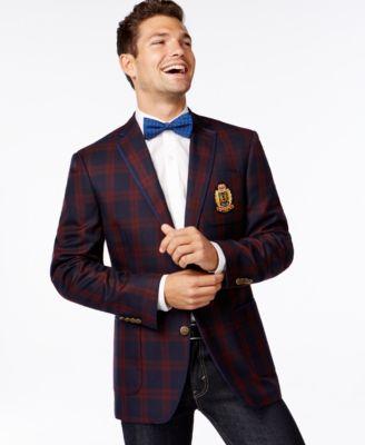 Tallia Vanita Plaid Sport Coat - Blazers & Sport Coats - Men - Macy's