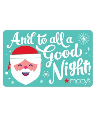 Mele Kalikimaka Gift Card with Letter - Gift Cards - Macy's