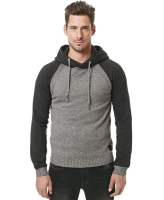 Buffalo David Bitton Walled Cable-Knit Sweater - Sweaters - Men ...