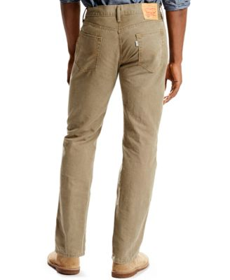 Levi's® 514 Straight Padox Canvas Twill Pants, Earth Brown - Pants ...