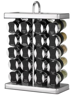 Martha Stewart Collection Space Saver Spice Rack, 21-Piece Set