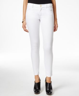 MICHAEL Michael Kors Petite Zipper-Pocket Super Skinny Jeans ...