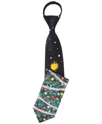 American Traditions Deck the Halls Ugly Christmas Tie - Ties ...
