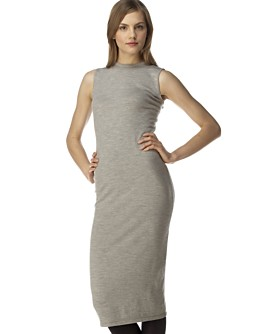 Macy*s - Women's - Calvin Klein Sleeveless Merino Wool Dress :  great deal calvin klein