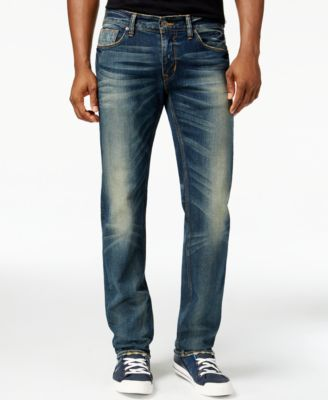 GUESS Original Straight Fit Fuse Wash Jeans - Jeans - Men - Macy's