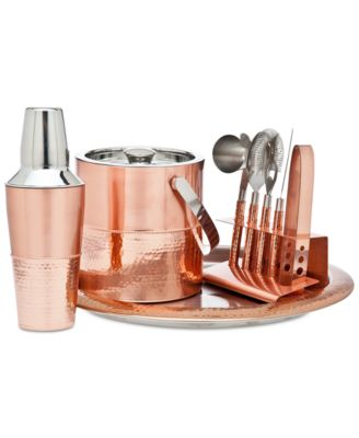 Godinger Copper Bar Tools Set