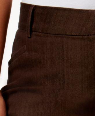 Lee Platinum Plus Size Monaco Trouser Brown Wash Jeans - Jeans