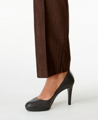 Lee Platinum Plus Size Monaco Trouser Brown Wash Jeans - Jeans ...