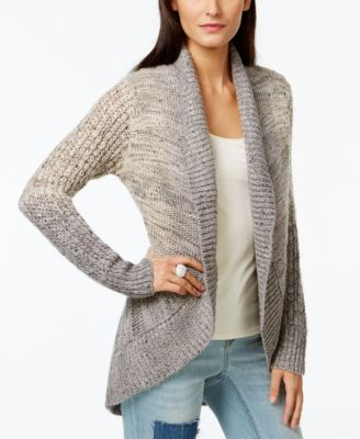 INC International Concepts Ombre Shawl-Collar Cardigan Sweater ...