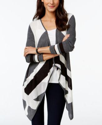 inc international concepts ombre shawl collar cardigan sweater