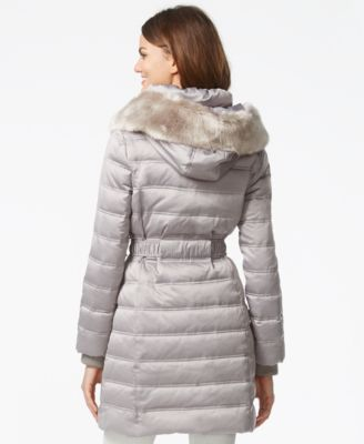 DKNY Quilted Down Puffer Parka Jacket - Coats - Women - Macy's