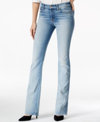 7 For All Mankind Kimmie Slim Illusion Bootcut Pretty Light ...